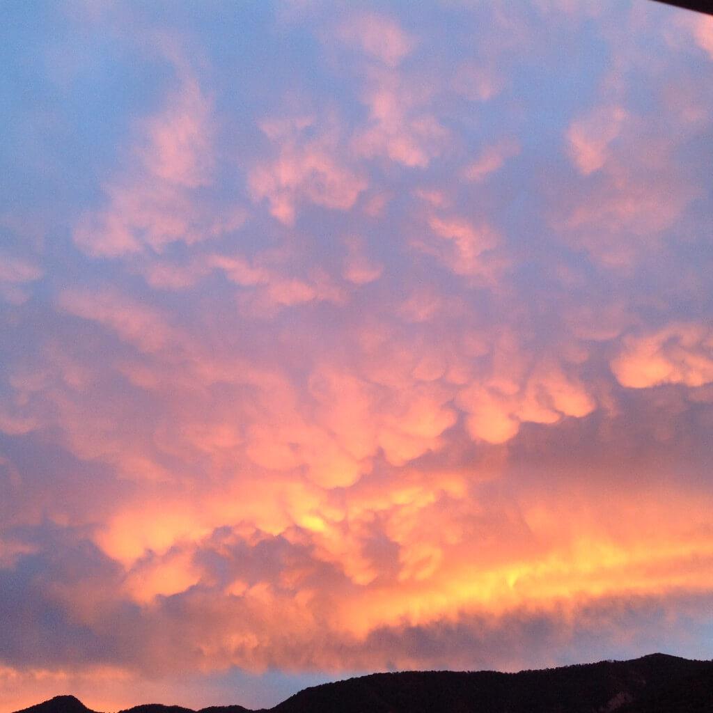 Гагра горы небо